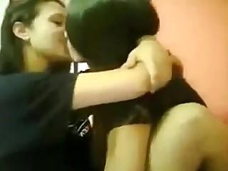Friends Fuck Indian Kiss Lesbian