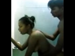 Bathroom Exotic Indian Lover Teacher Teen