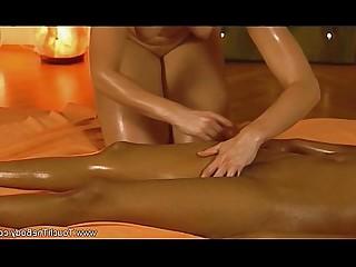 Ass Couple Erotic Lover Massage Oil