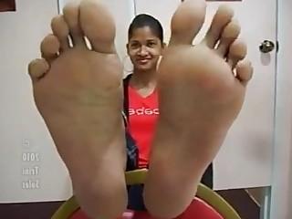 Feet Fetish Foot Fetish Indian Solo