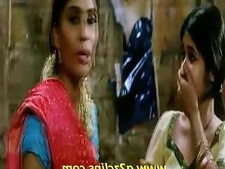 Exotic Indian Kiss Lesbian
