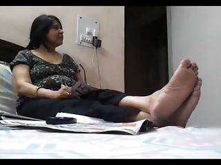 Feet Foot Fetish Indian Mature