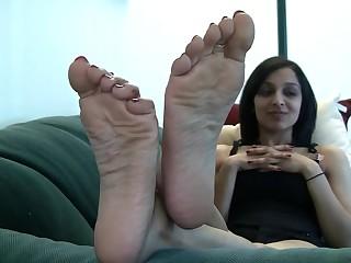 Feet Indian Teen