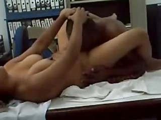Amateur Boobs Indian Office