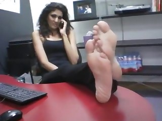Amateur Babe Indian Office